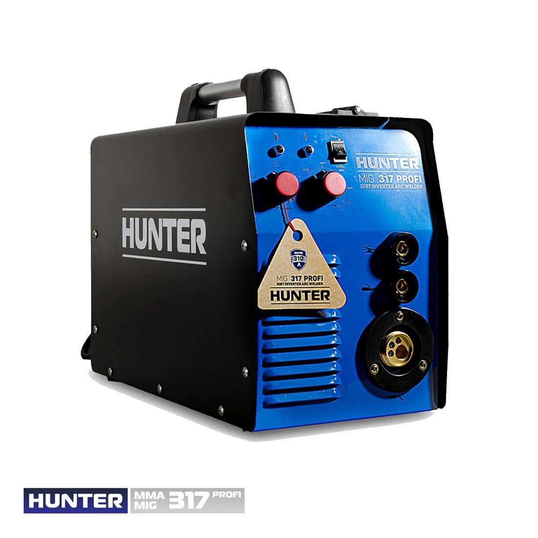 Фото Hunter MIG/MMA 317 (напівавт.+дуговий) цена 6075грн №4 — Hunter