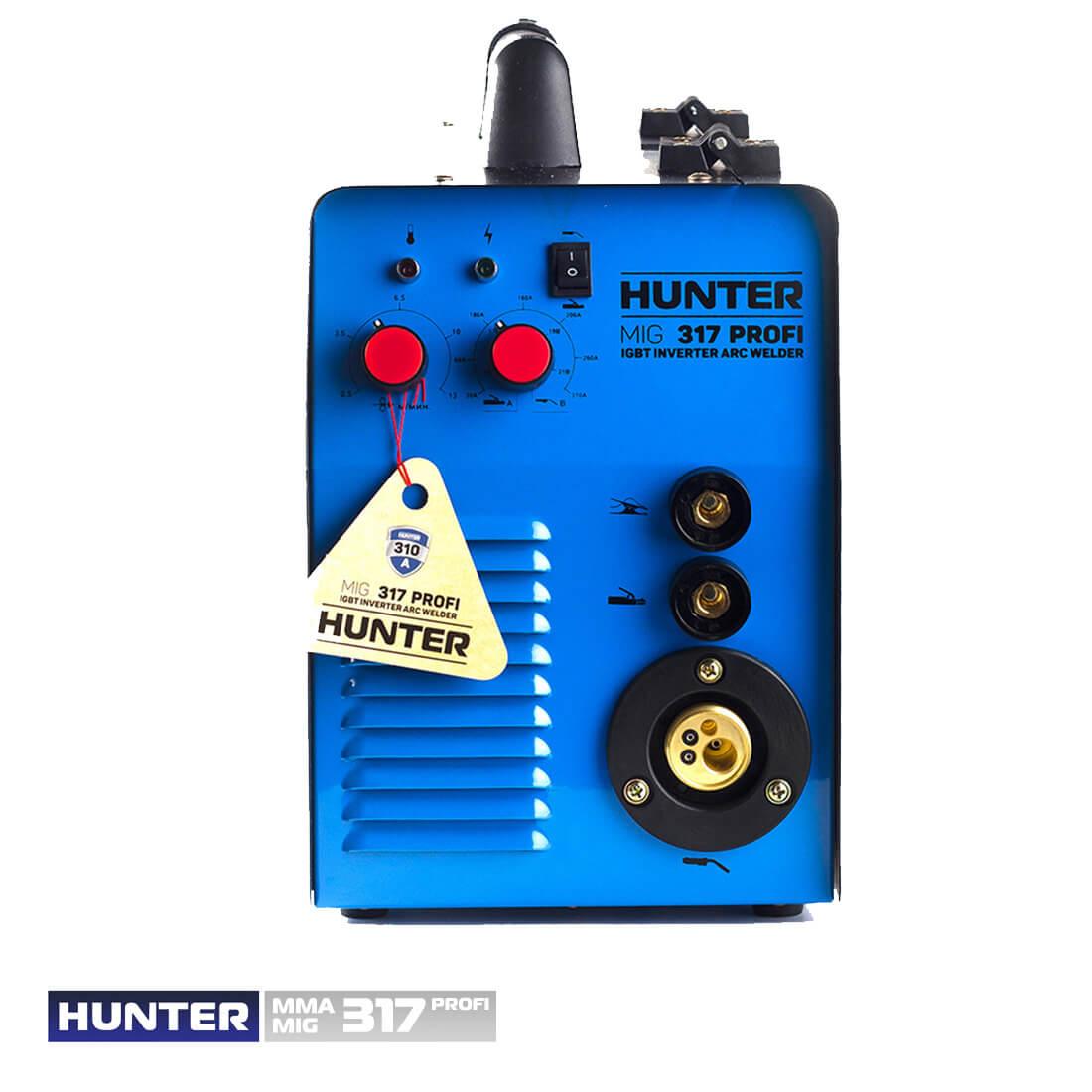 Фото Hunter MIG/MMA 317 (напівавт.+дуговий) цена 6075грн №2 — Hunter