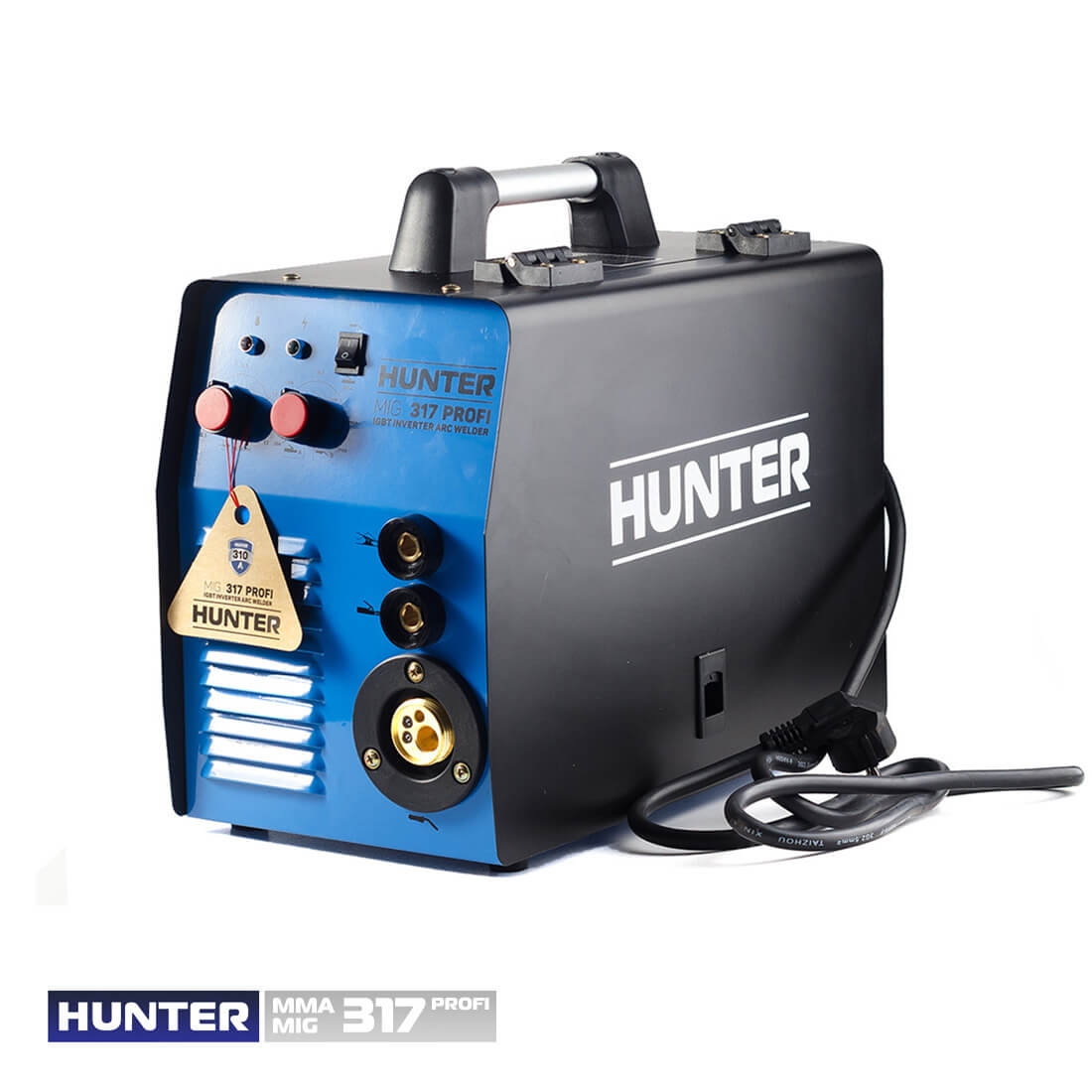 Фото Hunter MIG/MMA 317 (напівавт.+дуговий) цена 6075грн №1 — Hunter
